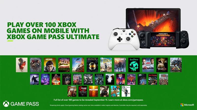 Project xCloud llegará el 15 de septiembre a Xbox Game Pass Ultimate