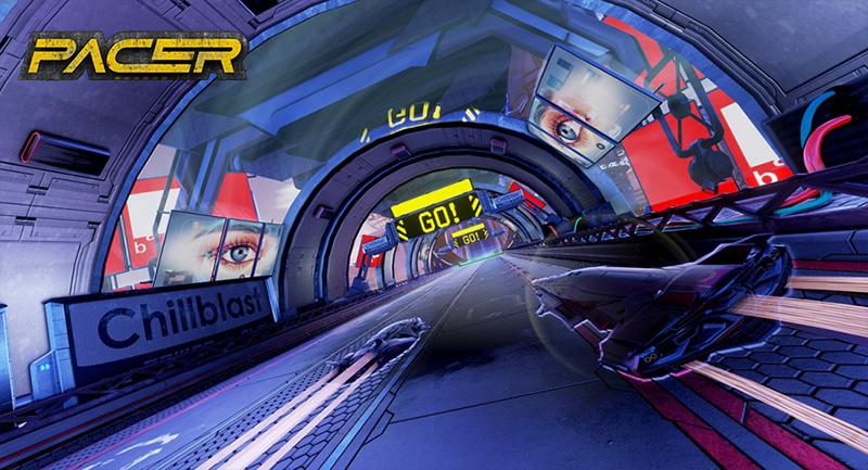 PACER: el nuevo juego que nos hace recordar a F-Zero y WipeOut