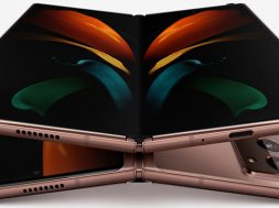 Samsung Galaxy Z Fold 2 filtrado abierto