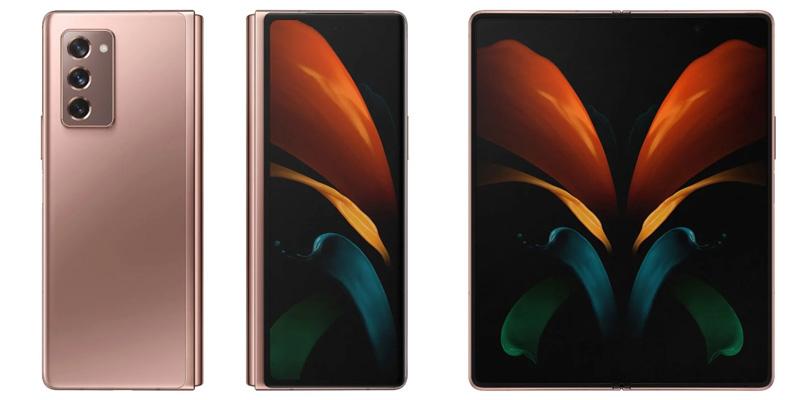 Samsung Galaxy Z Fold 2 filtrado rossa