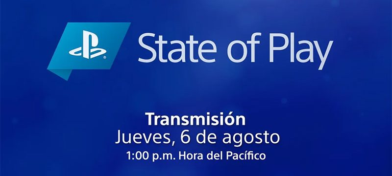 State of Play 2020 agosto