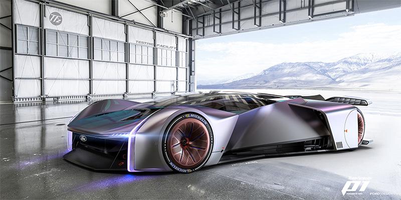Conoce al nuevo Fordzilla P1, el auto de carreras virtual de Ford