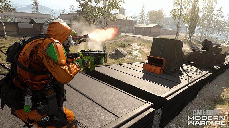 Temporada Cinco de Call of Duty Warzone tren