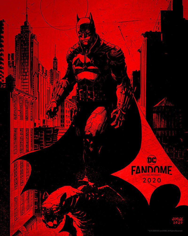 The Batman arte Lee
