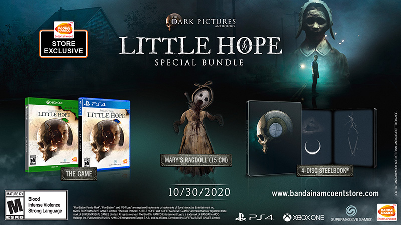 The Dark Pictures Anthology Little Hope Paquete Especial Xbox One PS4