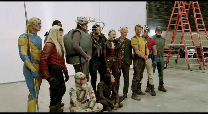 The Suicide Squad personajes