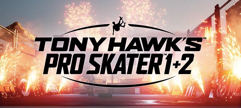 Tony Hawks Pro Skater 1 and 2 logo