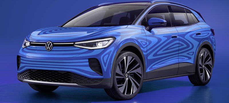 Volkswagen ID4 camu frontal