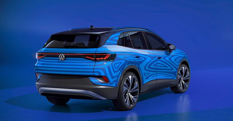 Volkswagen ID4 camu trasera