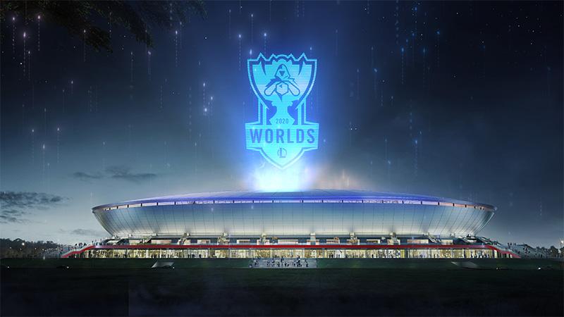 Worlds 2020 Pudong Stadium