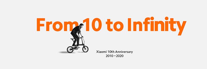 Xiaomi 10 to Infinity