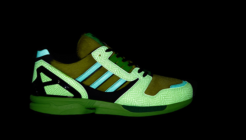 adidas Originals ZX 8000 atmos fluorescente