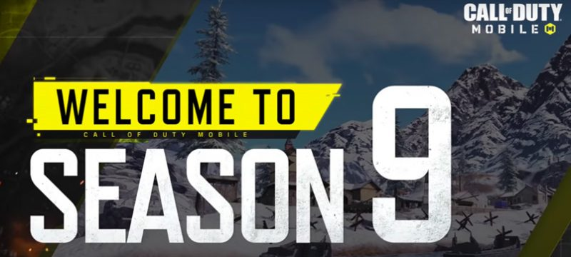 of Duty Mobile Season 9 logo necesita smartphone