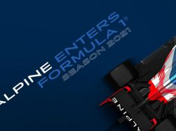 Alpine F1 Team anuncio