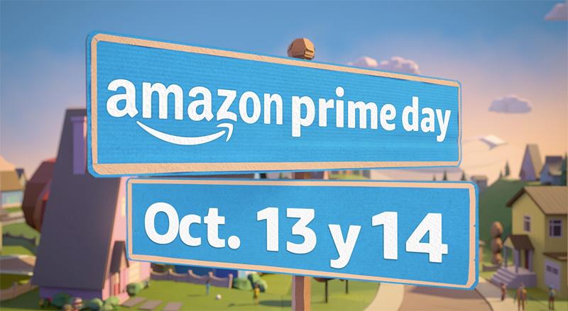 Amazon anuncia que Prime Day llega el 13 y 14 de octubre