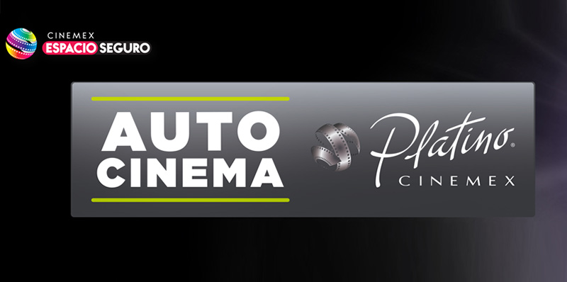 Así es el primer Autocinema Platino Cinemex en CDMX