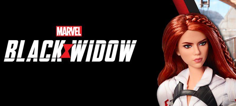 Barbie Black Widow Marvel Studios