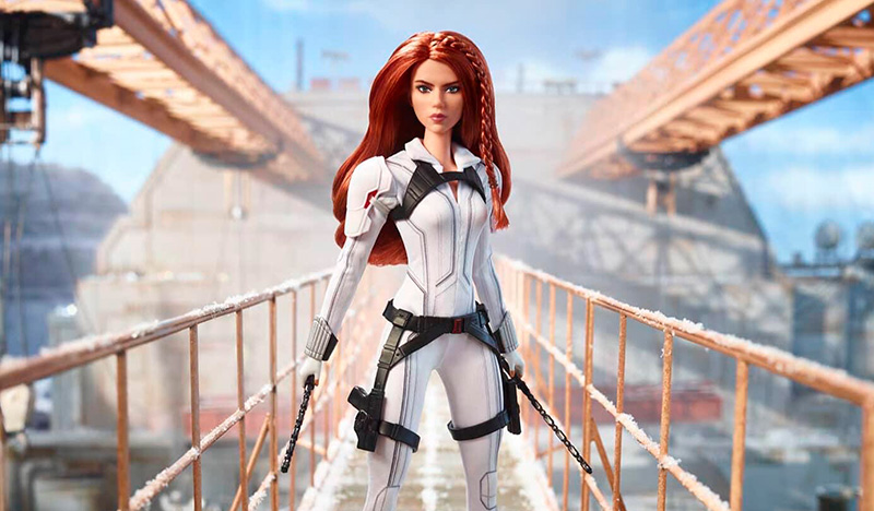 Barbie Black Widow pelicula