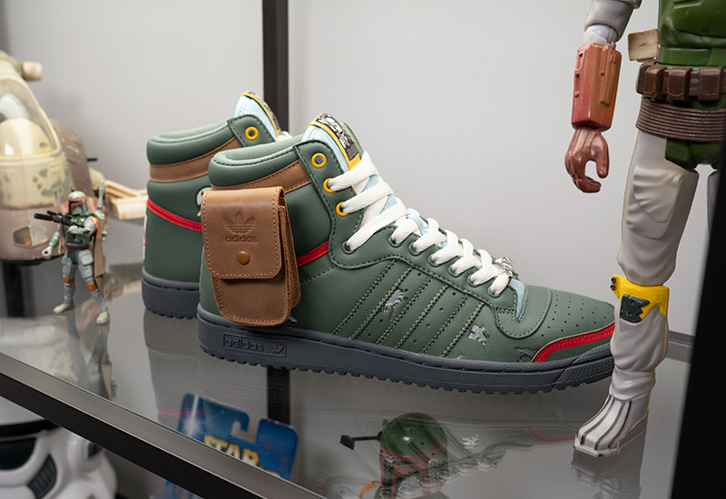 Boba Fett Top Ten adidas originals Star Wars