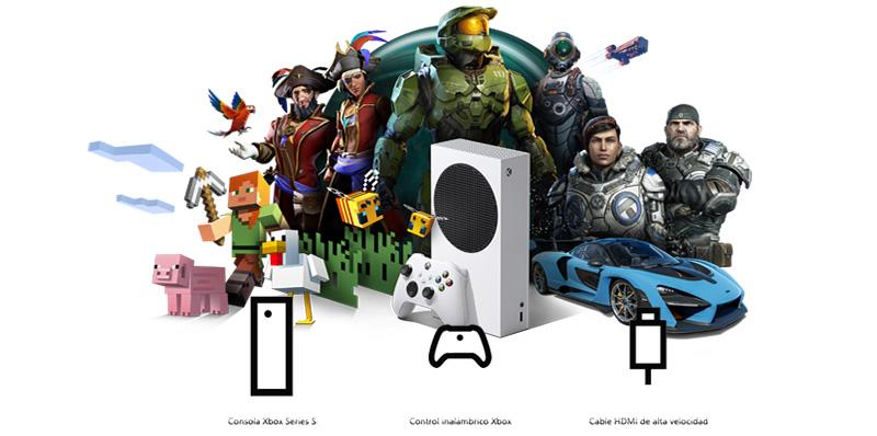 Caja Xbox Series S