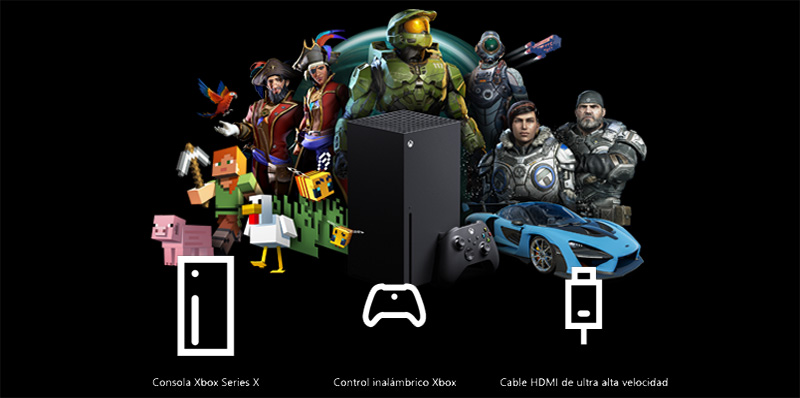 Caja Xbox Series X