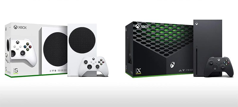 Cajas Xbox Series X Series S