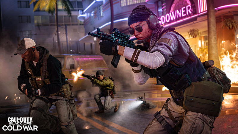 Call of Duty Black Ops Cold War Alpha Miami