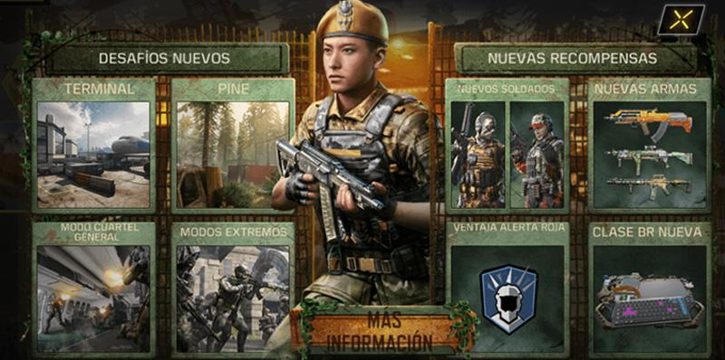 Call of Duty Mobile Season 10 The Hunt contenido
