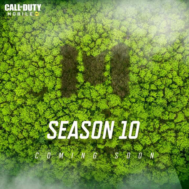 Call of Duty Mobile Season 10 The Hunt poster