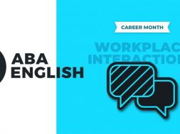Career Month ABA English