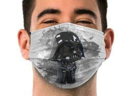 Cubrebocas Darth Vader