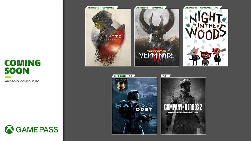 Destiny 2 Xbox Game Pass