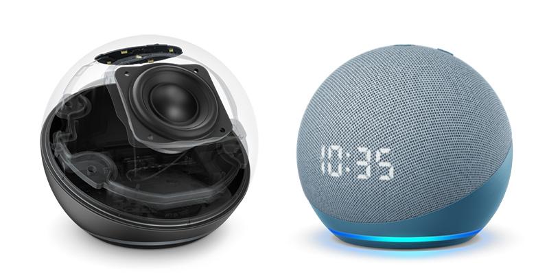 Echo Dot Echo Dot con reloj 2020 Bocina