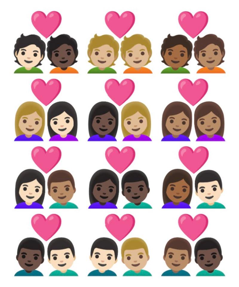 Emojis 13-1 2021 pareja