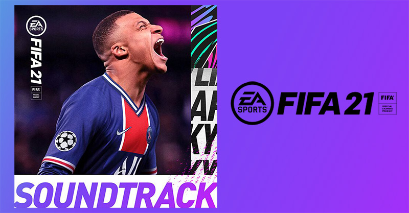 Escucha el soundtrack de FIFA 21 en Spotify, Apple Music o Deezer