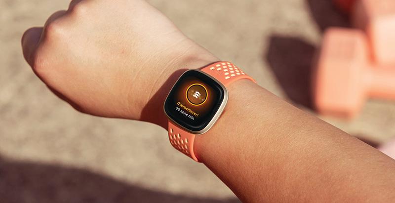 Fitbit Versa 3 ejercicio