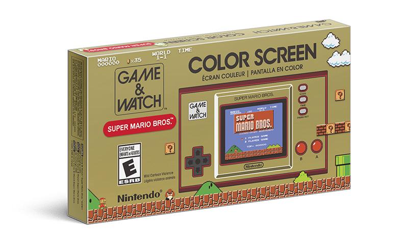 Game & Watch Super Mario Bros caja