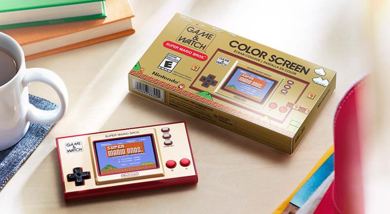 Game & Watch Super Mario Bros consola