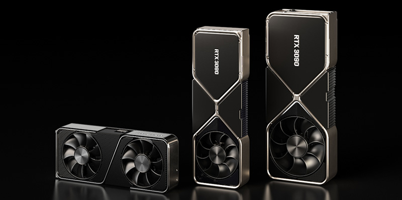 Las GeForce RTX 3080, RTX 3070 y RTX 3090 Founders Edition