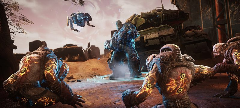 Gears Tactics Gameplay Xbox Series X Series S