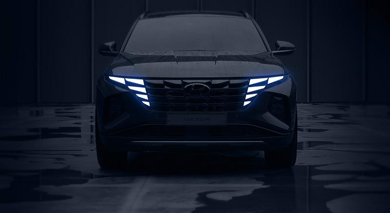 Hyundai Tucson 2021 con el nuevo diseño Parametric Dynamics