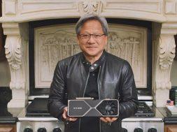 Jensen Huang GeForce RTX 30