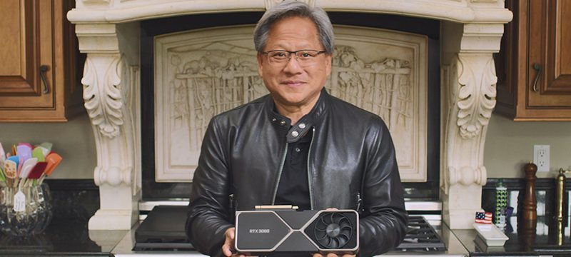 Jensen Huang GeForce RTX 30