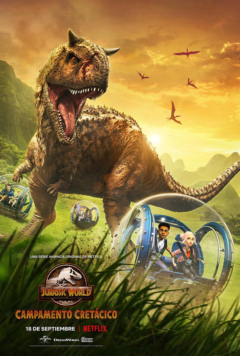 Jurassic World Campamento Cretacico Poster 2