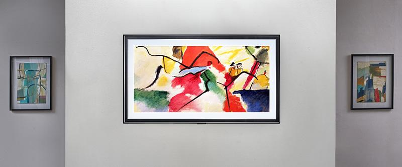 LG SIGNATURE OLED TV arte