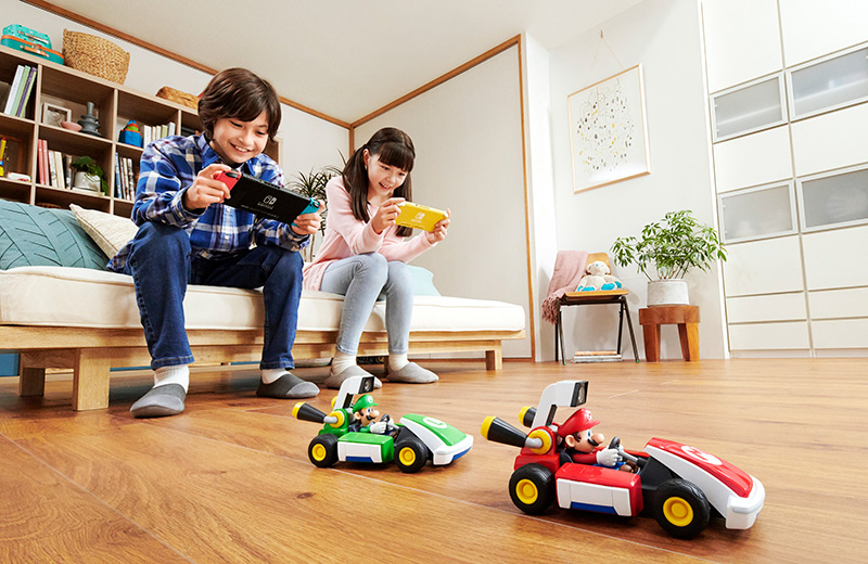 Mario Kart Live Home Circuit Mario Luigi