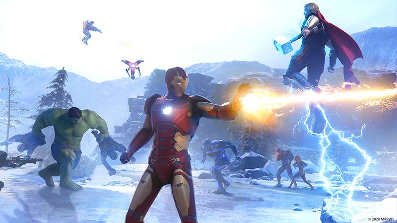 Marvels Avengers lanzamiento Co-Op