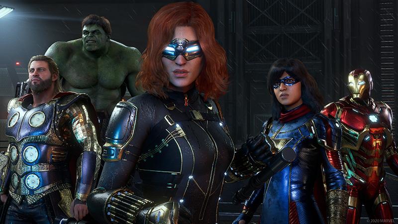Marvel's Avengers llega como el mejor juego de superhéroes