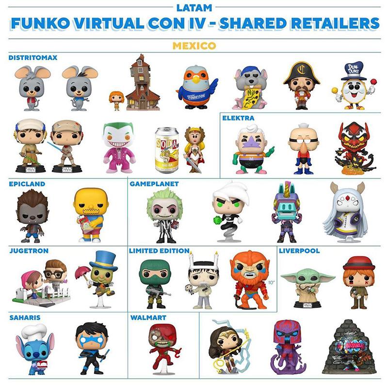 Nuevos Funko POP tiendas Mexico 2020