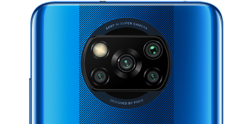 POCO X3 NFC camara